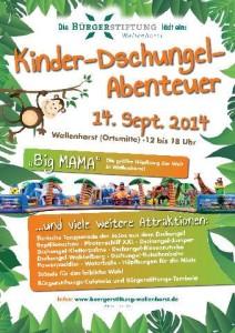 Plakat Kindeer- und Familienfest 2014