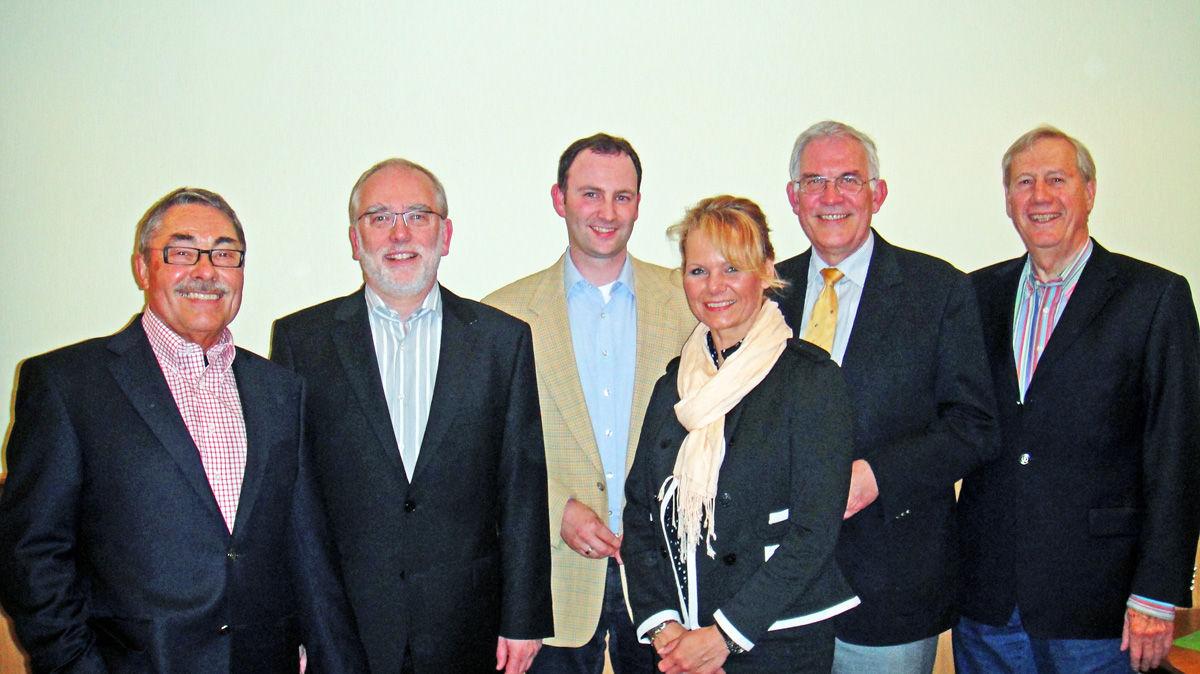 Der Vorstand der Bürgerstiftung Wallenhorst
